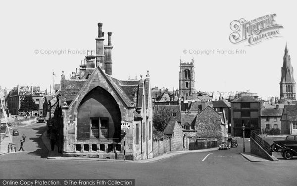 Photo of Stamford, St Peter's Callis c.1955