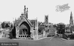 Stamford, St Peter's Callis c.1955