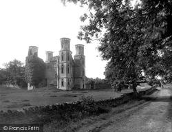 Stamford, Wothorpe Ruins 1922