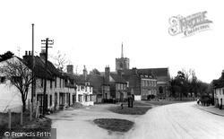 High Street c.1955, Standon