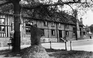 Standon, Mounting Stone and School c1965