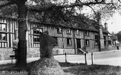 Mounting Stone And School c.1965, Standon