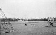 Standon, the Recreation Ground c1965