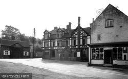 Stanford Bridge, Hotel, Post Office And Stores c.1955