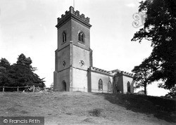 Stanford Bridge, St Mary's Church c.1965