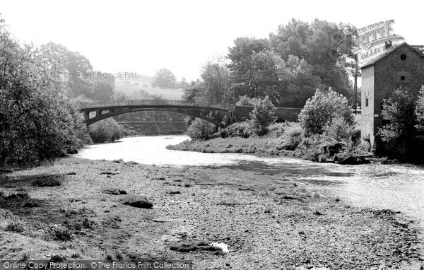 Stanford Bridge,the Bridge and Mill c1960,Hereford and Worcester