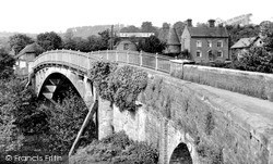 Stanford Bridge, The Bridge And Mill Farm c.1955
