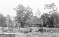 Stanford Dingley, The Church c.1965
