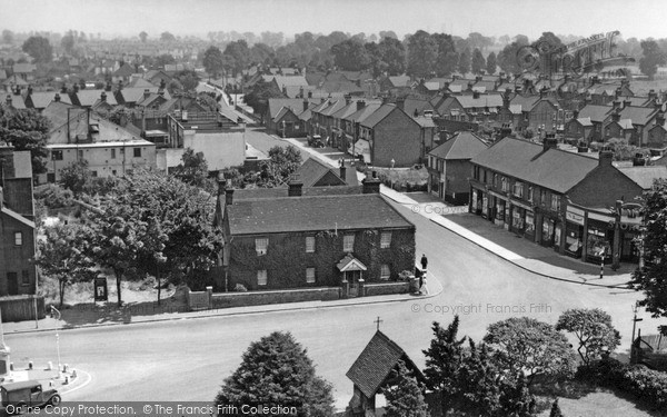 Birds  View on Photo Of Stanford Le Hope  Birds Eye View C1955   Francis Frith