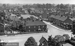 Stanford-Le-Hope, Birds Eye View c.1955
