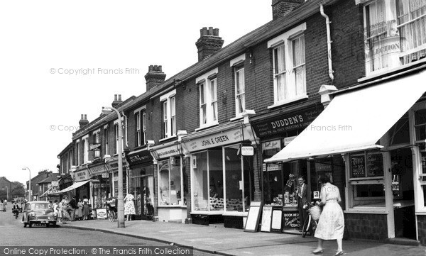 Photo of Stanford-Le-Hope, King Street c1960, ref. s258032