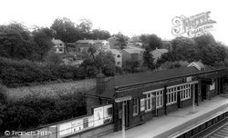 Stanford-Le-Hope, New Houses And Station c.1960