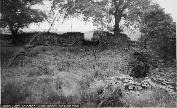 Photo of Stanhill, Ruins Of The Old Factory c.1955