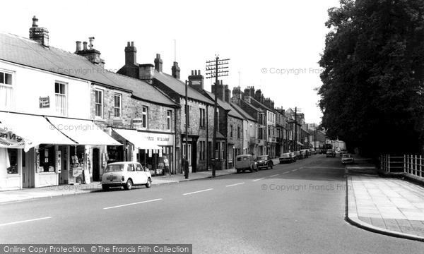 Photo of Stanhope, Front Street c1965, ref. s293104