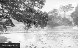 Stanhope, The River Wear And Stepping Stones c.1955