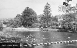 Stanhope, The Stepping Stones And Ford c.1955