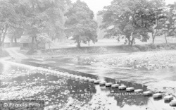 Stanhope, The Stepping Stones c.1955