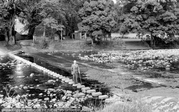 Photo of Stanhope, the Stepping Stones c1965, ref. s293111