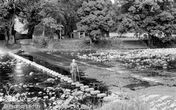 Stanhope, The Stepping Stones c.1965