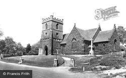 St Andrew's Church 1929, Stanstead Abbotts