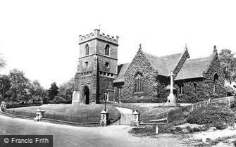Stanstead Abbotts, St Andrew's Church 1929