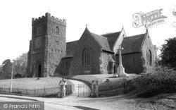 St Andrew's Church c.1960, Stanstead Abbotts