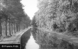 The New River c.1960, Stanstead Abbotts