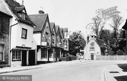 The Red Lion And Clock House c.1960, Stanstead Abbotts