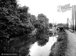 The River Lee Navigation 1929, Stanstead Abbotts