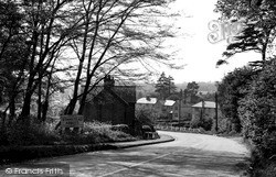 View From Cats Hill c.1960, Stanstead Abbotts