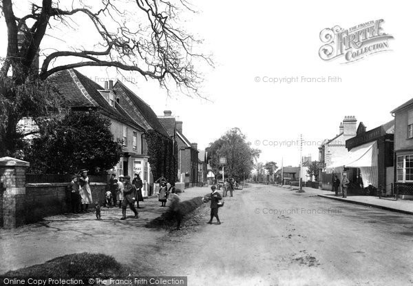Photo of Stansted Mountfitchet, Cambridge Road 1903