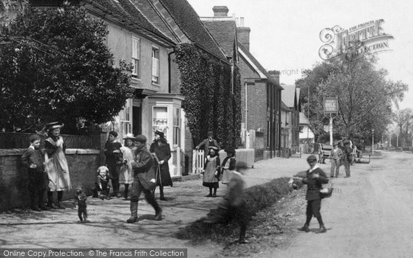 Photo of Stansted Mountfitchet, Children 1903, ref. 51108x