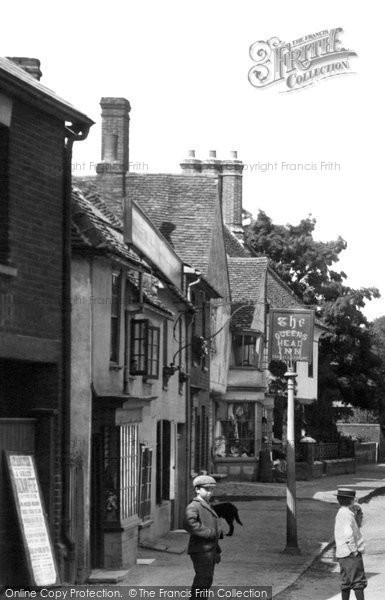 Photo of Stansted Mountfitchet, The Queens Head Inn 1899