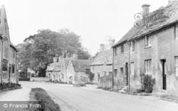 Stanton, The Village c.1960