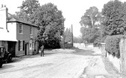 Stanwell Moor, Post Office c.1950