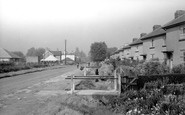 Stanwell Moor, Southern Cottages c1955