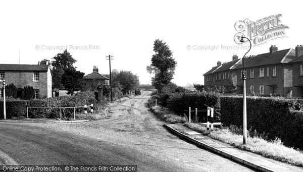 Stanwell Moor, Spout Lane c.1955