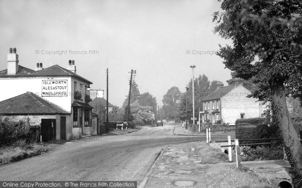 Stanwell Moor, The Anchor c.1955