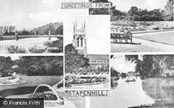 Stapenhill, Composite c.1955