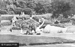 Stapenhill, Riverside Gardens c.1955