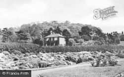Stapenhill, The Rockery c.1955