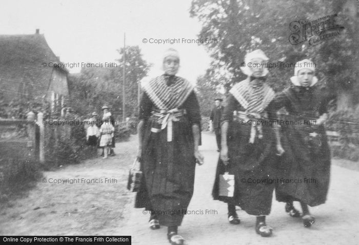 Photo of Staphorst, Going To Church c.1930