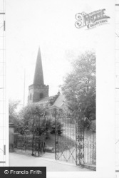 Stapleford, St Helen's Church c.1955