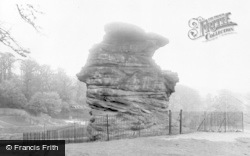 Stapleford, The Hemlock Stone c.1955