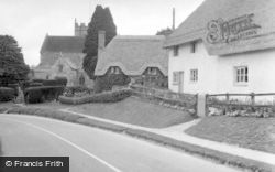 Stapleford, The Village And Church 1958