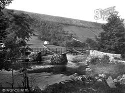 Wooden Bridge And Moor End 1926, Starbotton