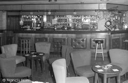 East Lendings Caravan Park, Bar Interior c.1960, Startforth