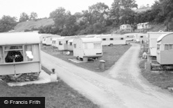 East Lendings Caravan Park c.1960, Startforth