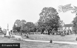 Garden Of Remembrance c.1950, Staveley