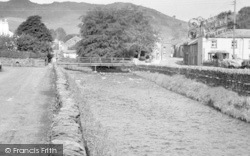 Staveley, The River Gowan c.1955